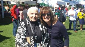 My favorite auto aficionista, Denise McCluggage