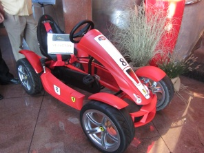 Auction item Ferrari FXX Kart - newly acquired by the Black Hawk Museum