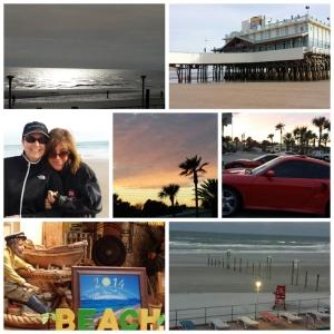 Daytona Beach at its finest, both sunrise and sunset.